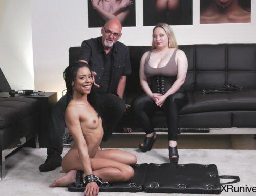 Bondage and Orgasms with Kira Noir